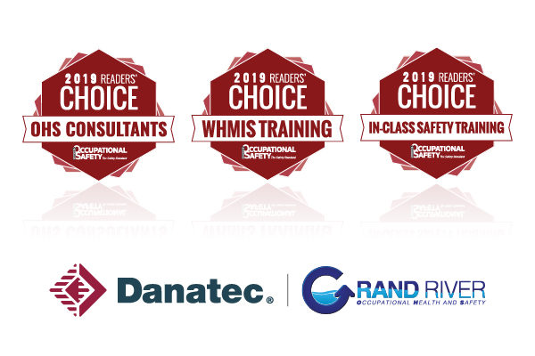 Danatec Honoured With Multiple Awards from Canadian Occupational Health and Safety Magazine
