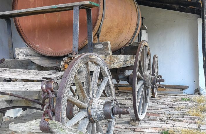 An early 1900s transport tanker.