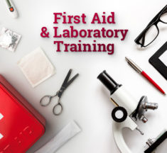 New on Danatec.com: First Aid and Laboratory Safety